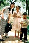 農村の子供たち
